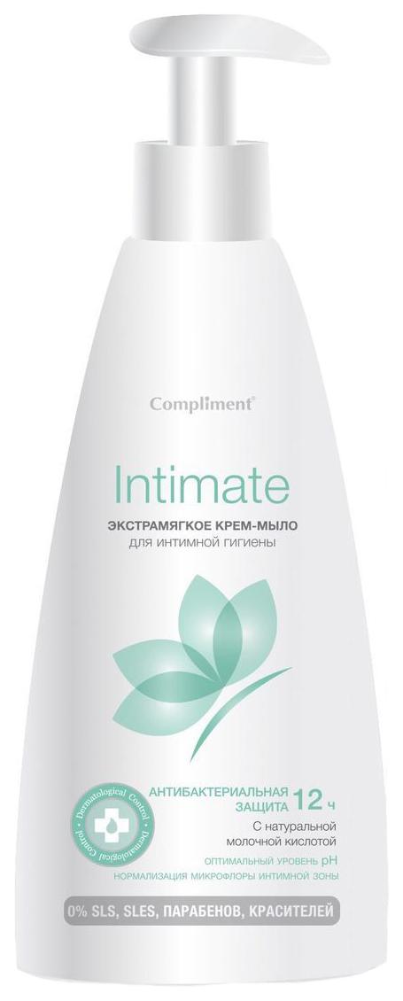 Жидкое мыло Compliment Intimate Экстрамягкое для интимной гигиены 250 мл