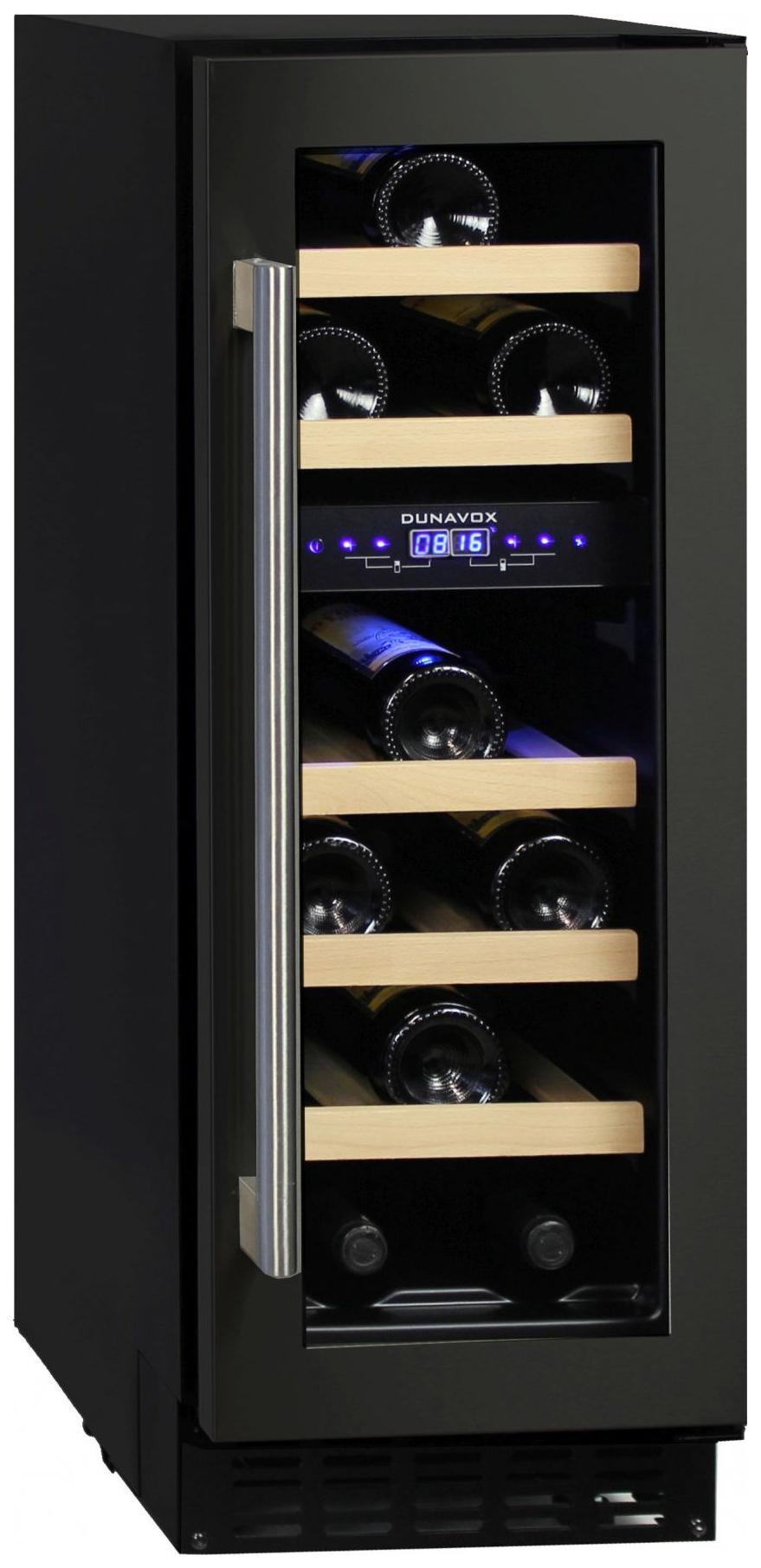 Встраиваемый винный шкаф Dunavox DAU 17.57DB