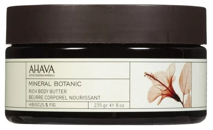 AHAVA MINERAL BOTANIC RICH BODY BUTTER HIBISCUS #AND# FIGA