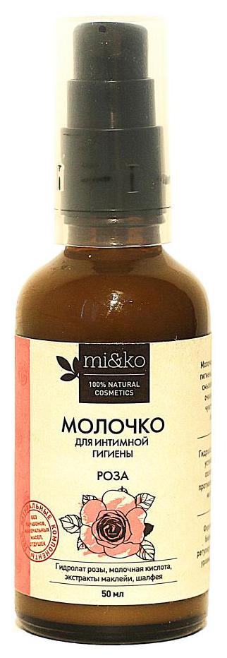 Купить Средство для интимной гигиены Ми&Ко Молочко Роза 50 мл, mi&ko