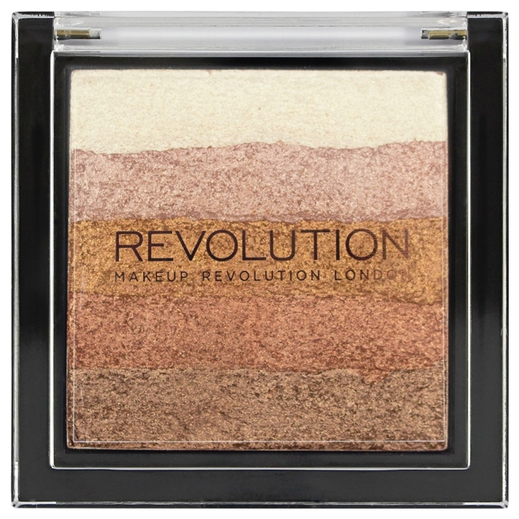 Хайлайтер Makeup Revolution Vivid Shimmer Brick Bronze Kiss