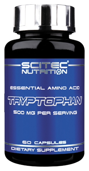 Scitec Nutrition Tryptophan 60 капсул без вкуса