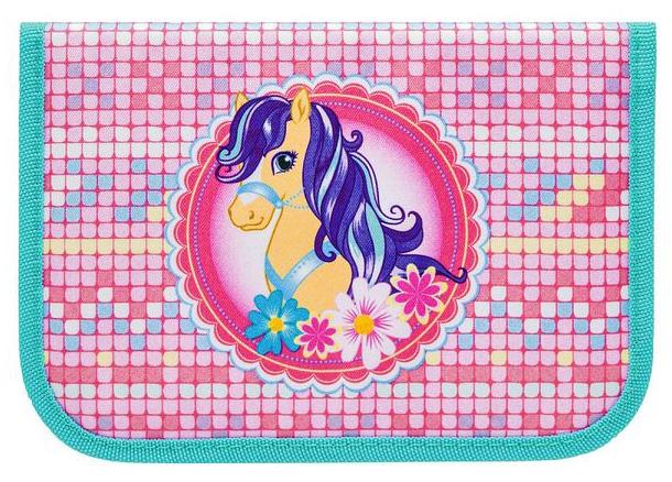Пенал на молнии Tiger Enterprise NATURE QUEST COLLECTION Sweet Pony 18001/G/TG