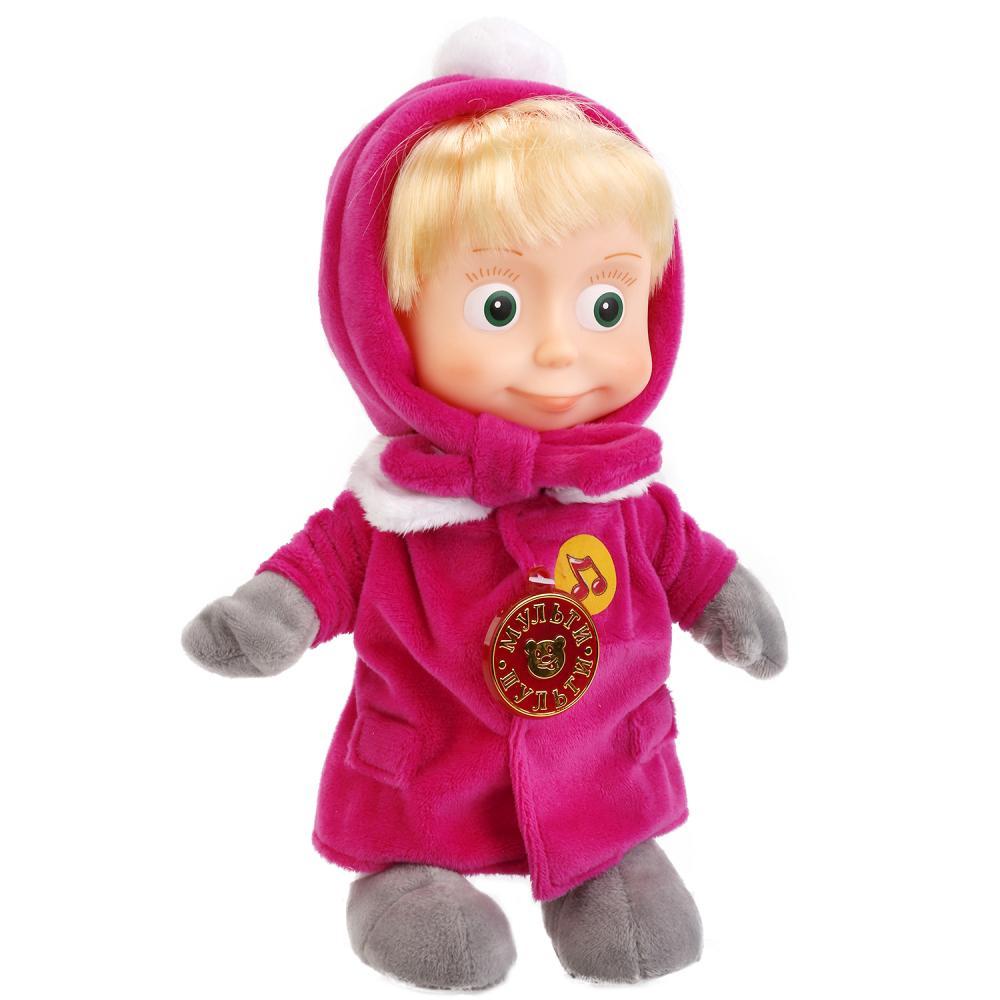 Купить Мягкая игрушка Мульти-Пульти Маша 29 см в зимней одежде (м/ф маша и медведь),