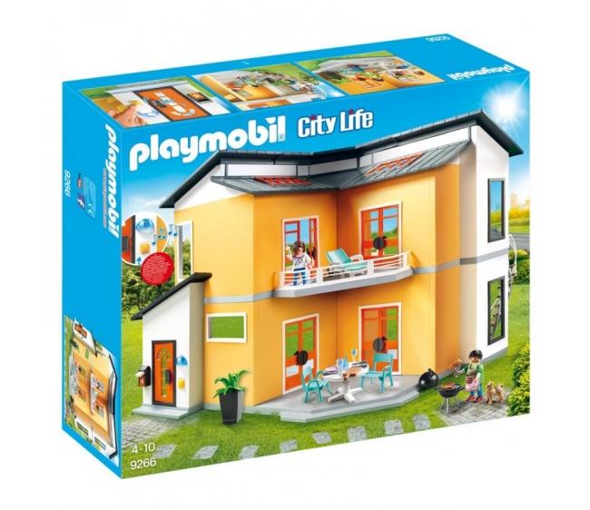 Кукольный дом современный дом Playmobil 9266pm