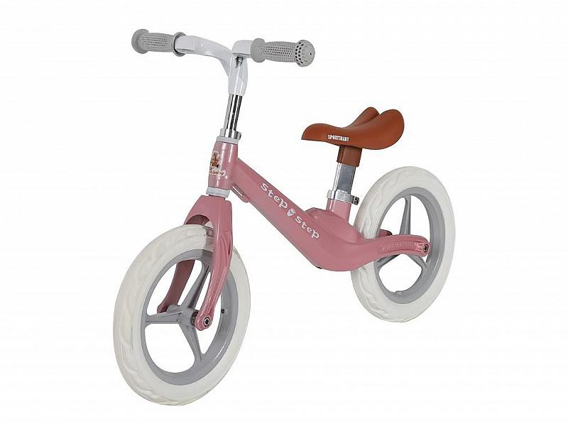 Купить Беговел Sportsbaby Step by Step MS-331 розовый, Беговелы