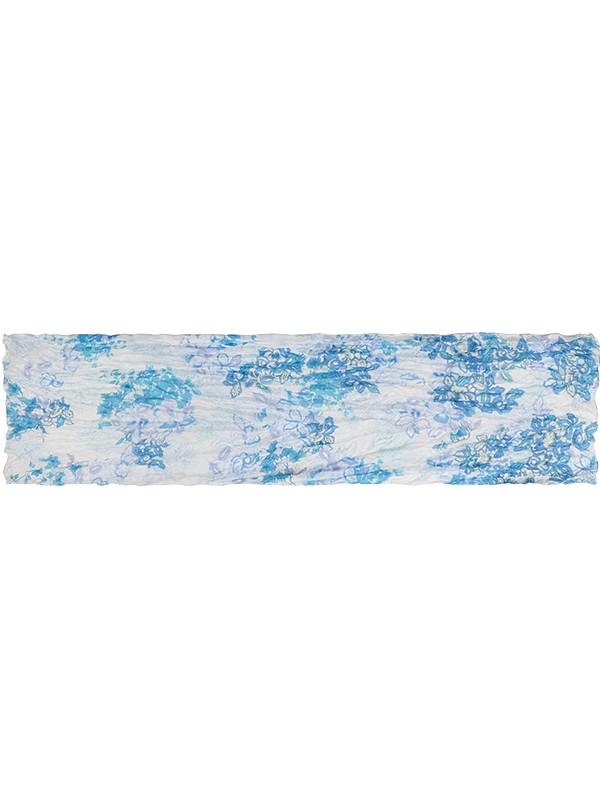 Палантин женский Eleganzza E05-7075 голубой фото