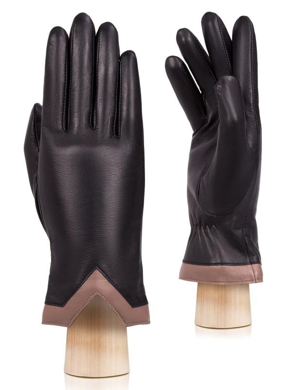 Перчатки женские Labbra LB-0540 черные 7.5 фото