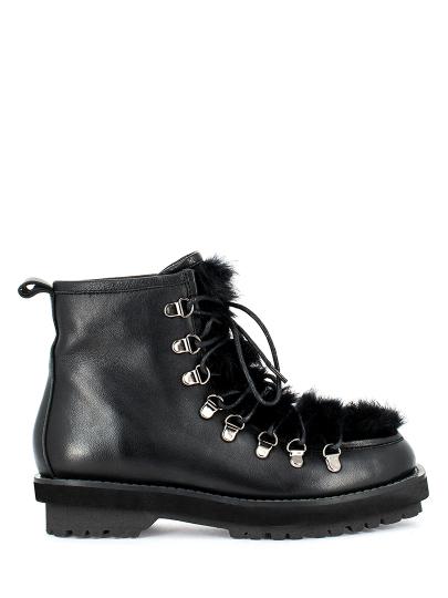 Ботинки женские черные MASSIMO SANTINI  60040