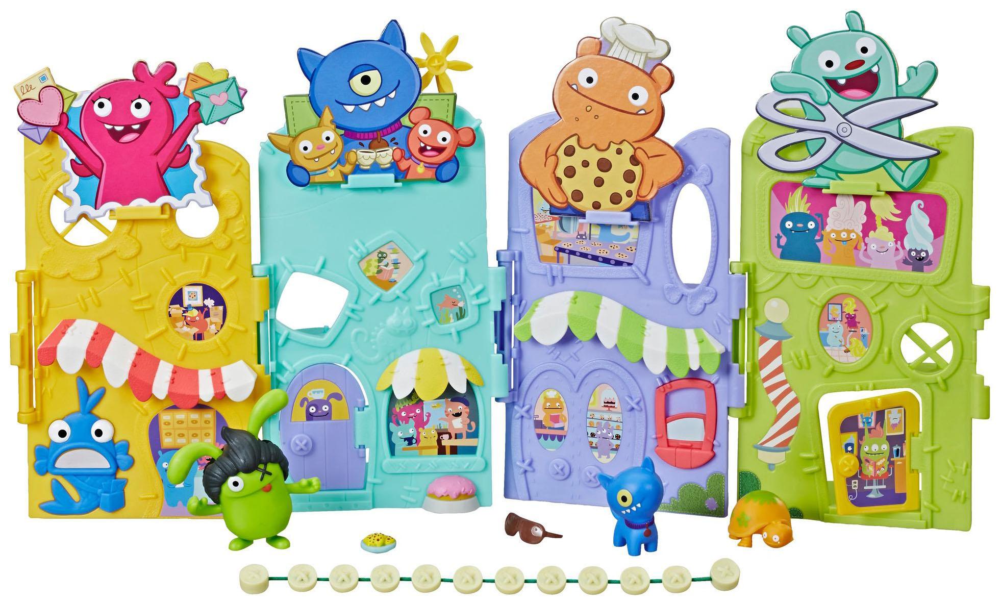 Игровой набор Ugly Dolls - Агливилль Hasbro