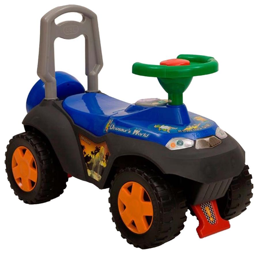 Купить Каталка детская Наша Игрушка Сафари Синяя, Наша игрушка, Машинки каталки