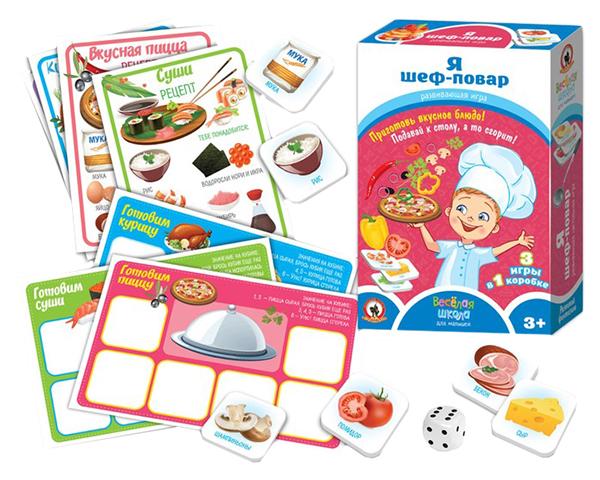 Купить Настольная игра «Я шеф-повар» Русский стиль, Семейные настольные игры