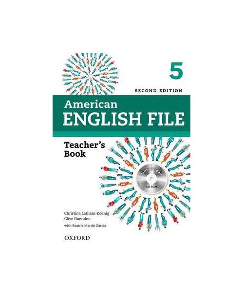 American English File. 5 Teacher Book: With Testing Program (+ CD-ROM)