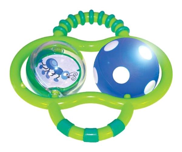 Развивающая игрушка Sassy Погремушка светящаяся 80022EP
