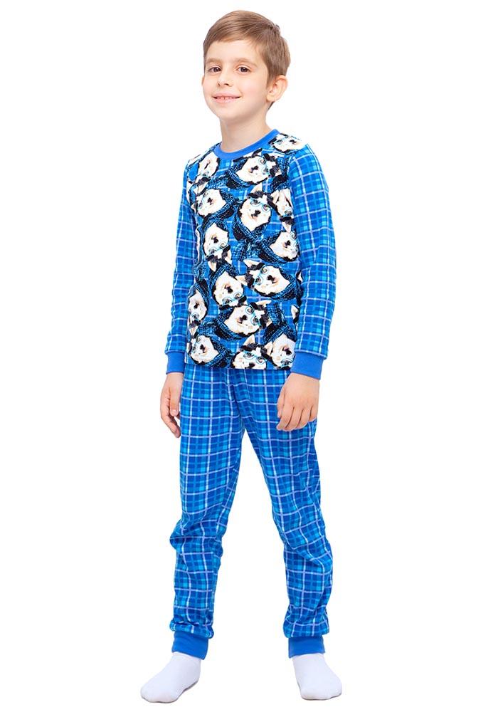 Пижама Стиляж Валдай индиго для мальчика р.146
