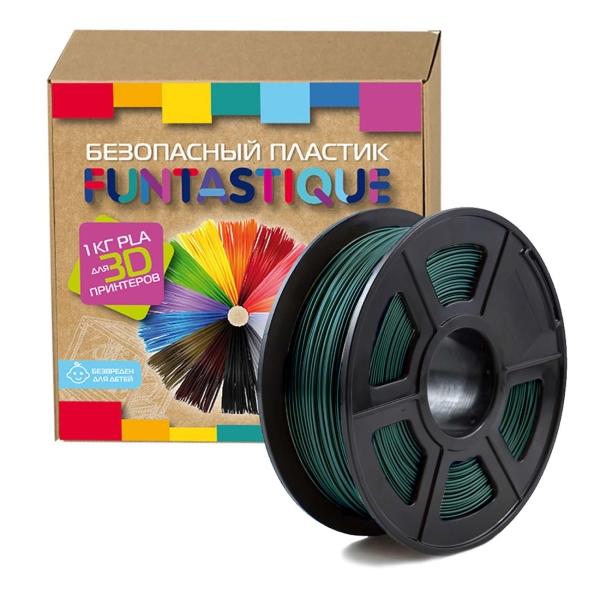 Пластик для 3D-принтера Funtastique PLA-1KG-DG PLA Green