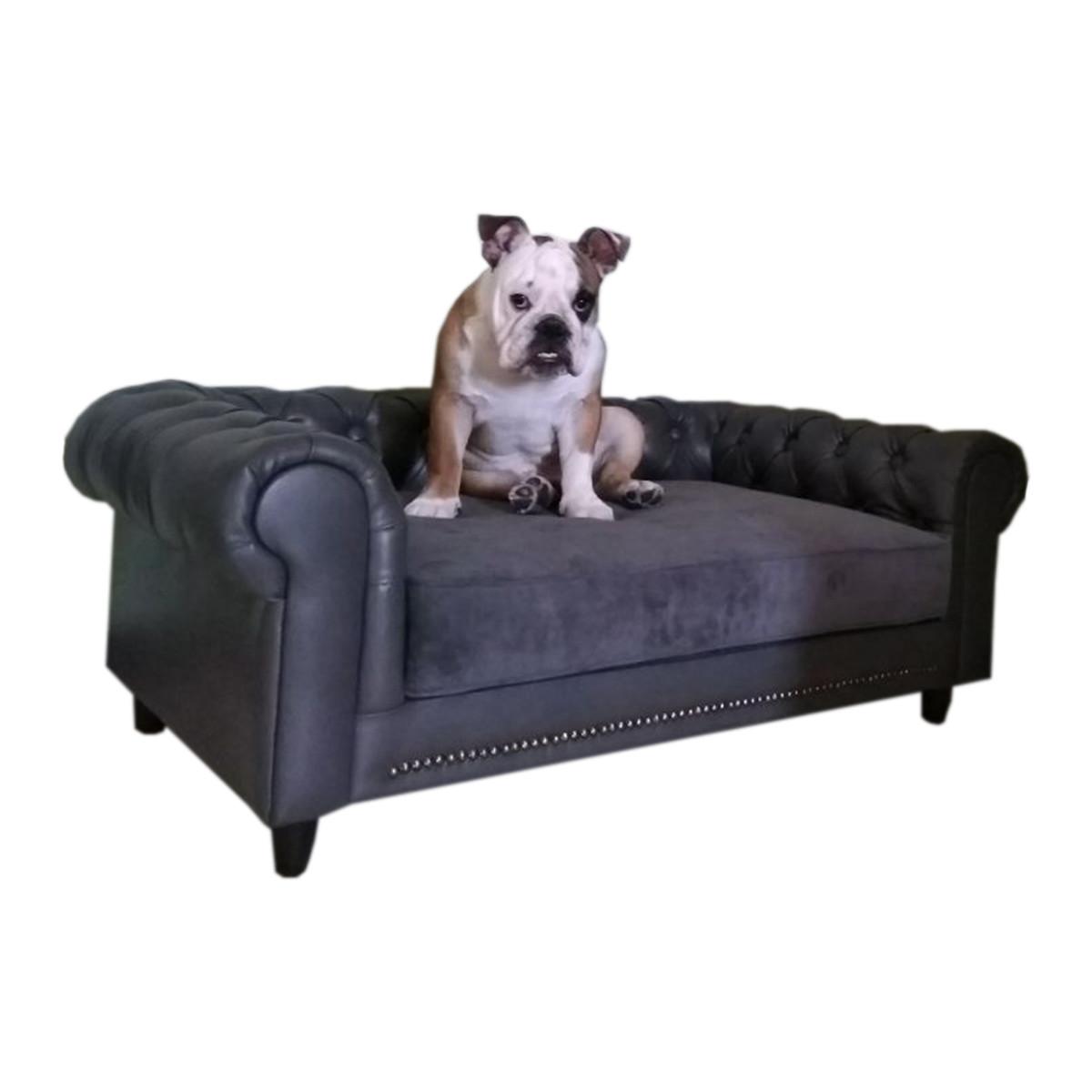 Лежак диван для собак FUNTIK STORE Честер,