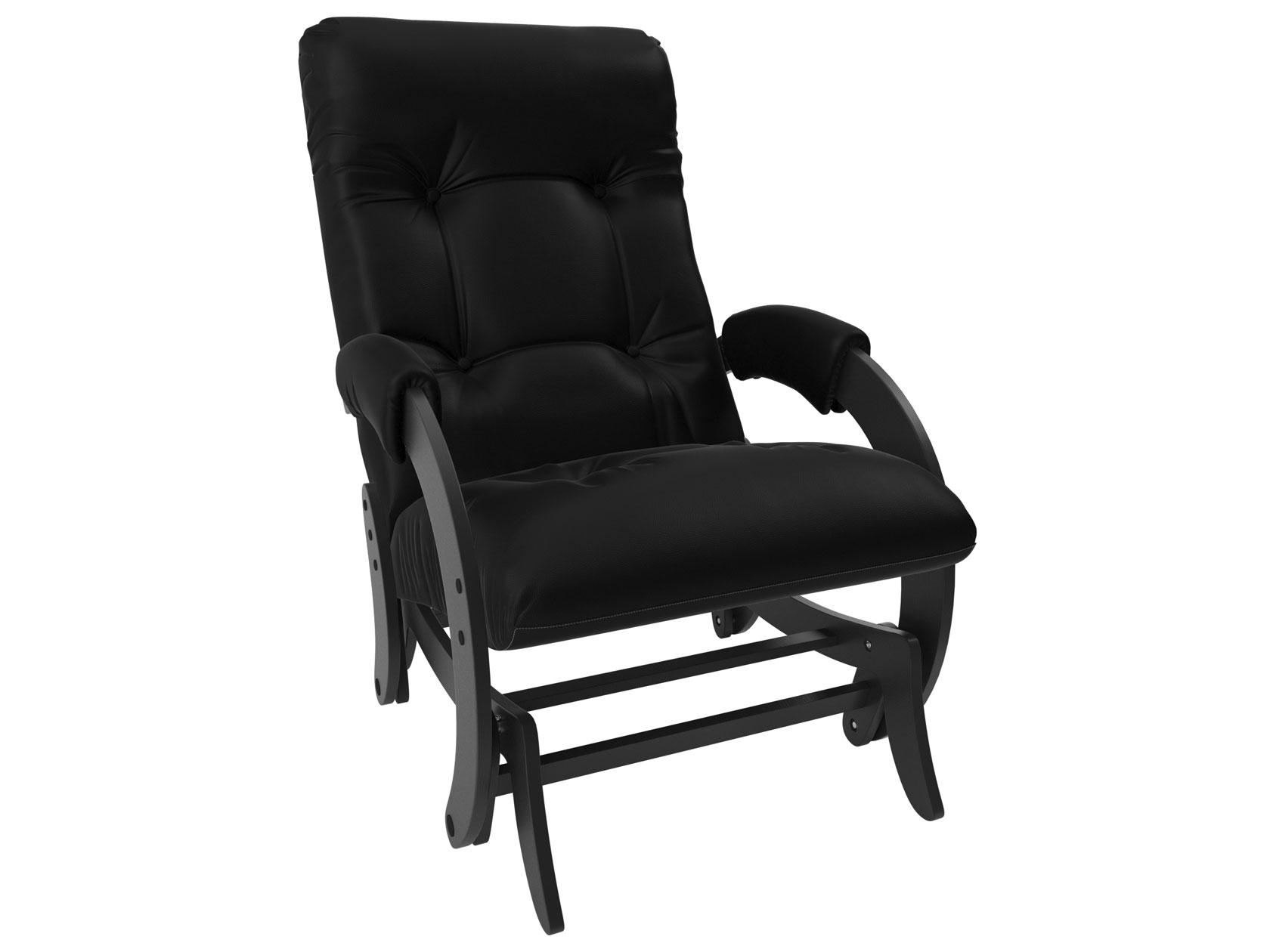 Кресло-глайдер Мебель Импэкс Комфорт Модель 68 венге, Vegas light black