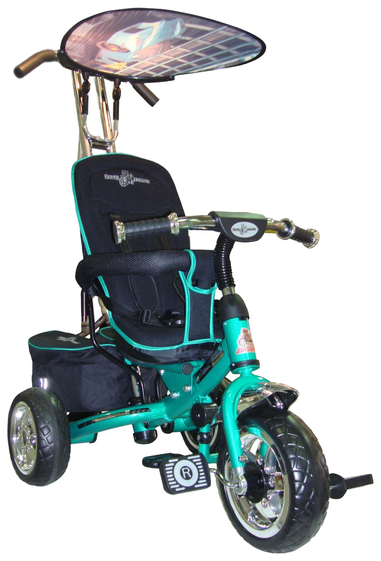 Трехколесный велосипед Funny Jaguar Lexus Trike Original Next Evo аква