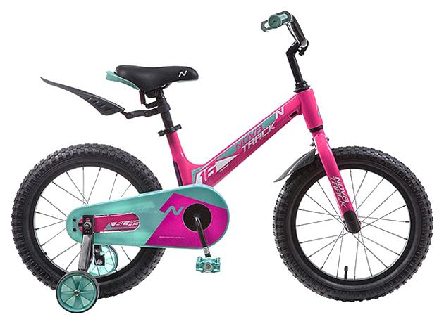 Купить Велосипед Novatrack Blast (цвет: фуксия/зеленый, 16 ),