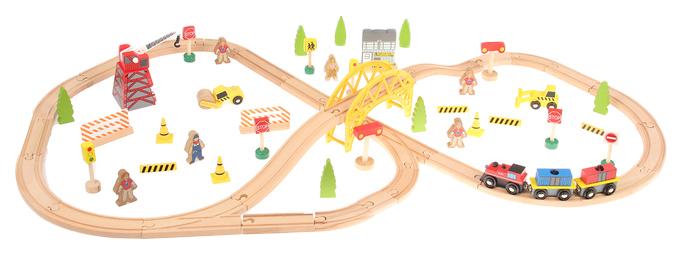 Железная дорога Sima-land большая стройка