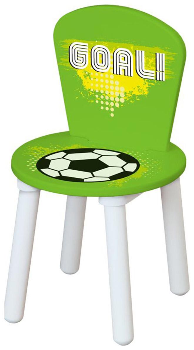 Стул для комплекта детской мебели Polini Kids Fun 185 S Футбол, зеленый
