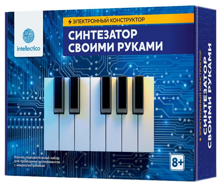 Купить Электронный конструктор «Синтезатор своими руками» Intellectico, Детские конструкторы