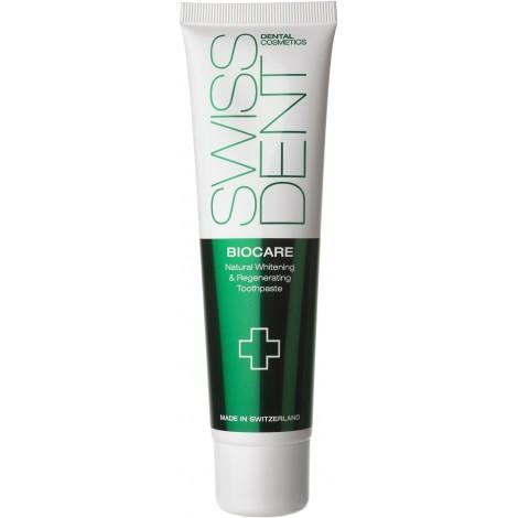 Зубная паста Swissdent Biocare отбеливающая для чувствительных зубов 50 мл