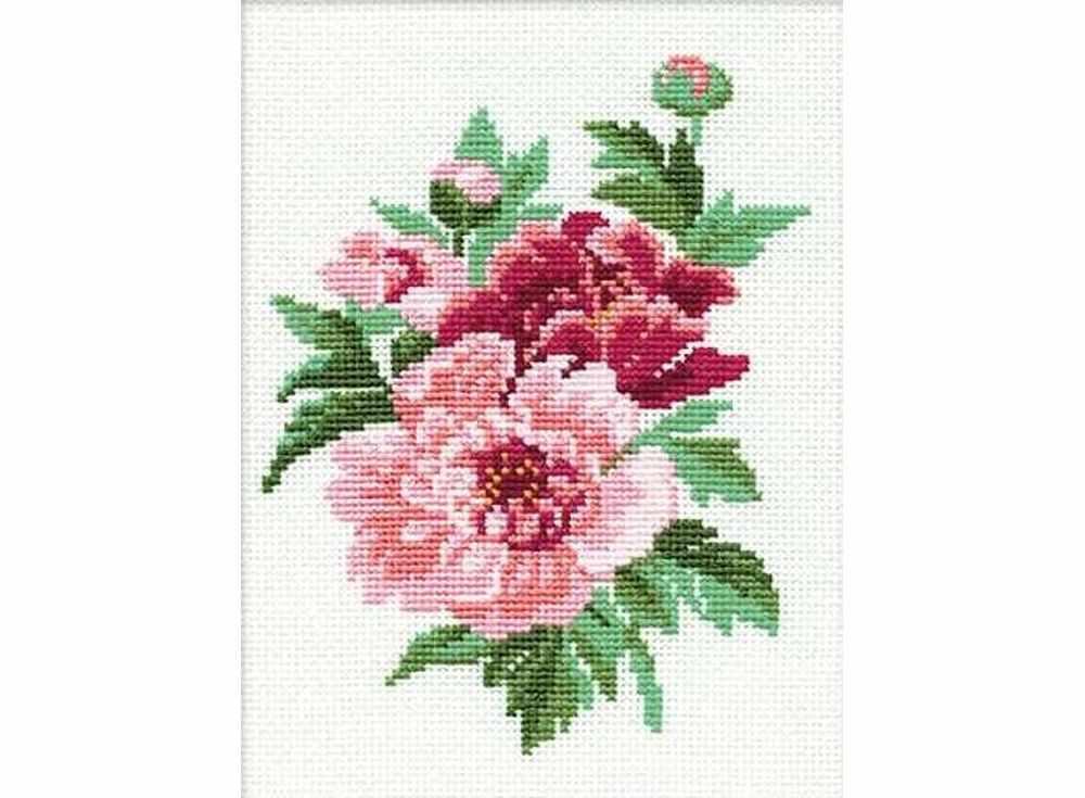 Набор для вышивания РИОЛИС Пионы арт.137218 фото