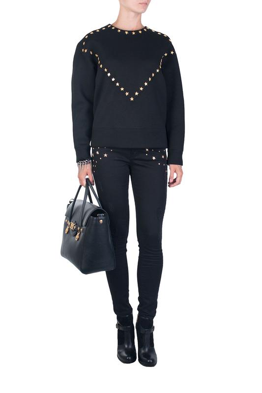 Брюки женские Versace Collection 84392 черные 29 IT