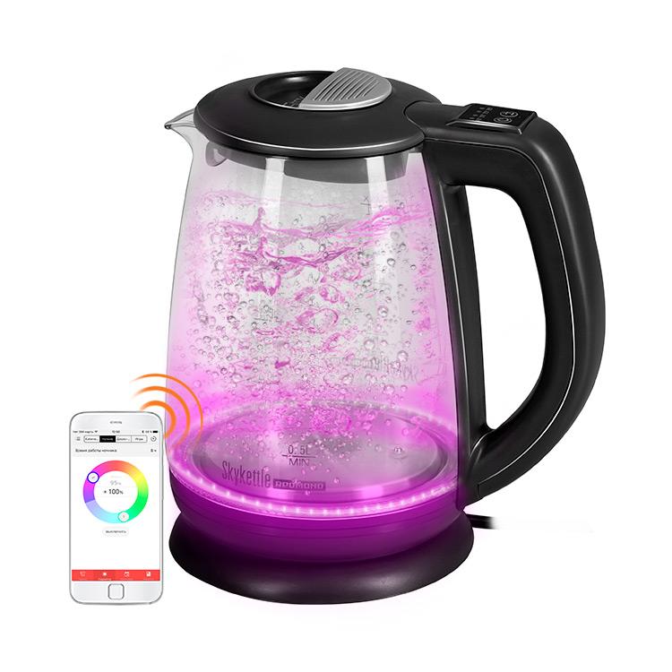 Умный чайник светильник Redmond SkyKettle G214S Black