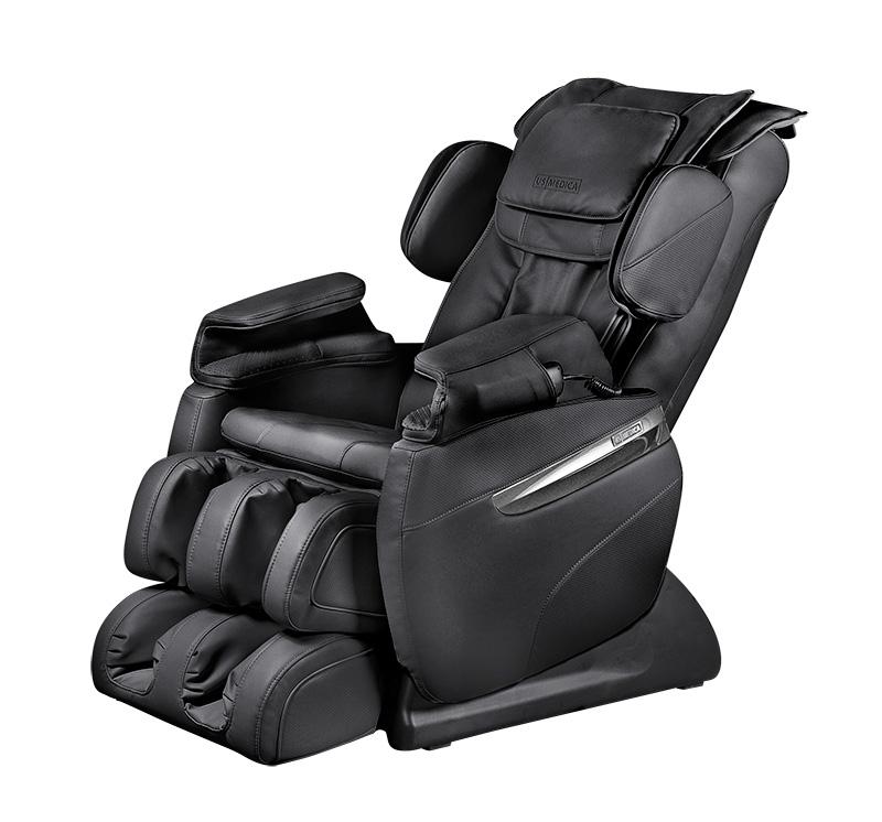 Массажное кресло US Medica Quadro черное