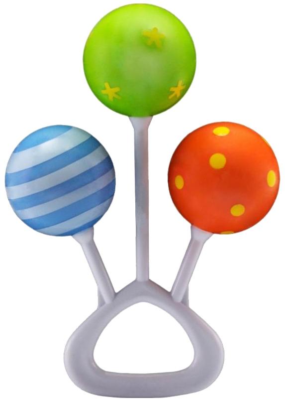 Купить Развивающая игрушка Canpol Babies Погремушка Три шарика 2/664, Погремушки