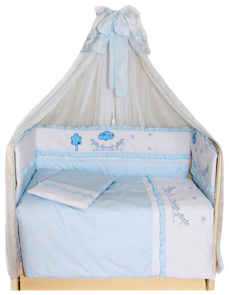 Купить Веселая семейка , 7 предметов, , Комплект детского постельного белья Bombus ВЕСЕЛАЯ СЕМЕЙКА 1112, Комплекты детского постельного белья