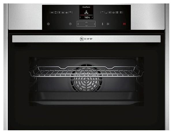 Встраиваемый электрический духовой шкаф Neff C15CR22N2 Silver