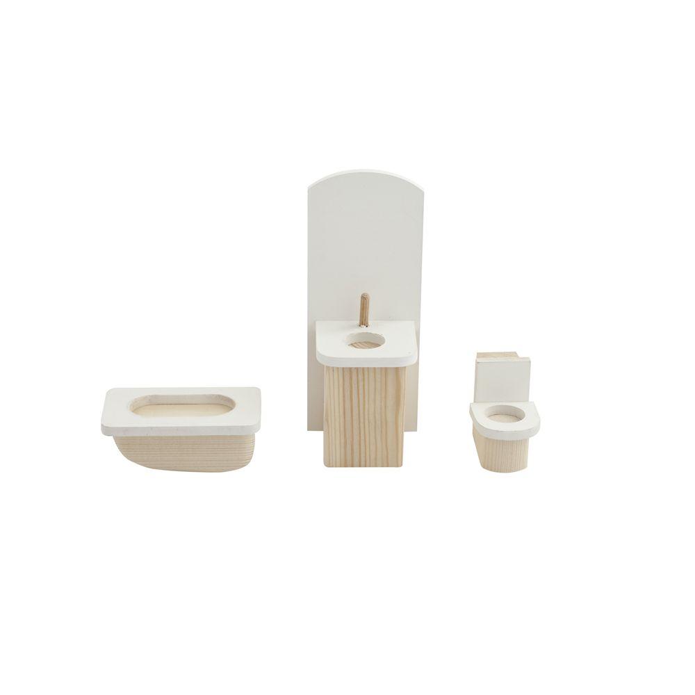 Набор мебели для мини-кукол – Ванная комната Paremo PDA517-01