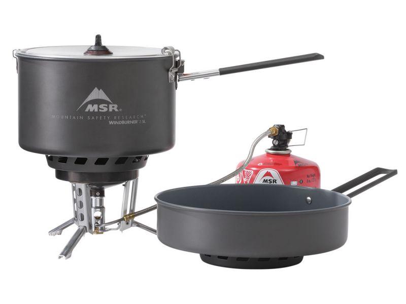 Туристическая горелка газовая MSR Windburner Combo System