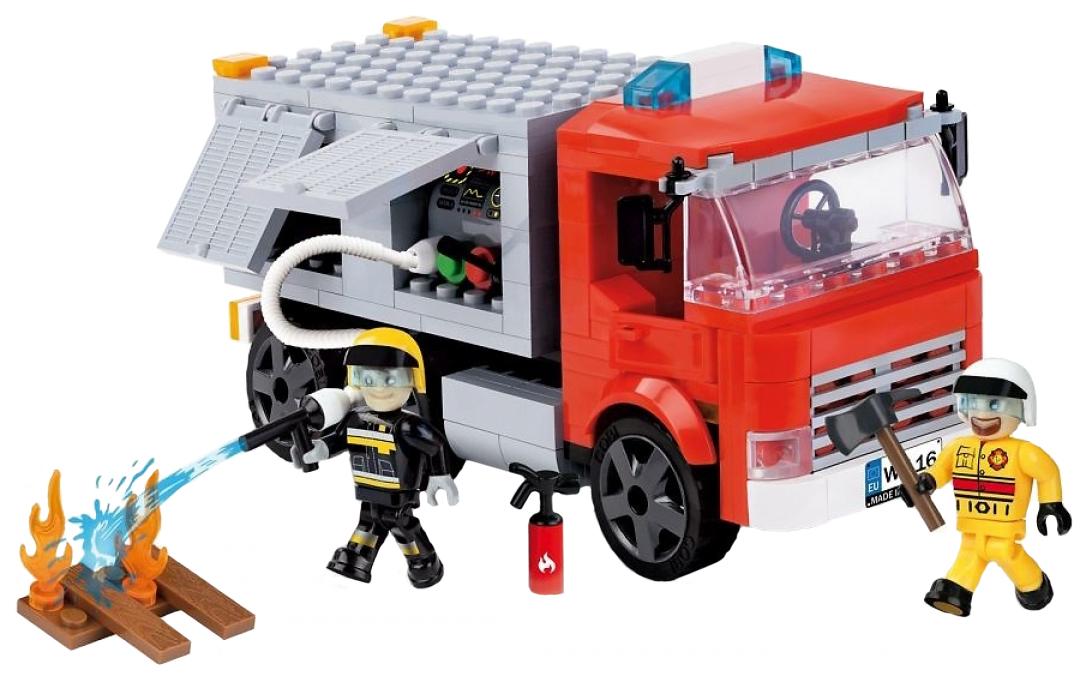 Купить Конструктор пластиковый COBI Пожарная машина, Конструкторы пластмассовые