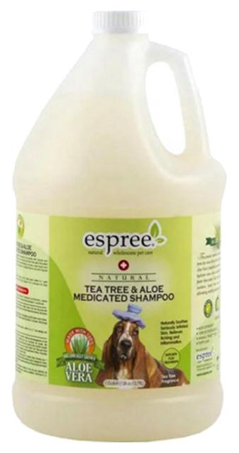 Шампунь для собак Espree Advanced Care Tea Tree  Aloe чайное дерево и алоэ вера 379 л.