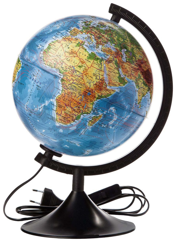 Физический глобус Globen Классик свет 21 см
