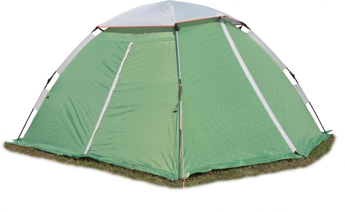 Палатка-автомат Maverick Montblanc трехместная зеленая
