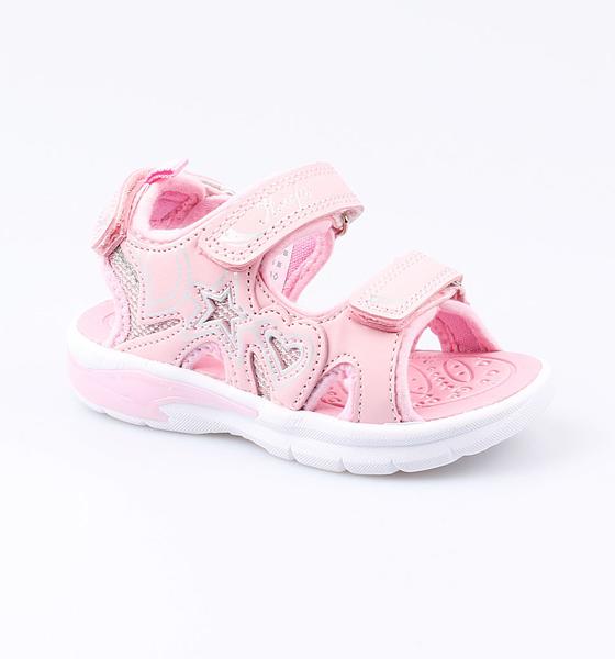 Купить Пляжная обувь Котофей для девочки р.26 324014-12 розовый, Шлепанцы и сланцы детские
