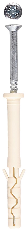 Дюбель-гвоздь Зубр 6 x 80 мм, 70 шт