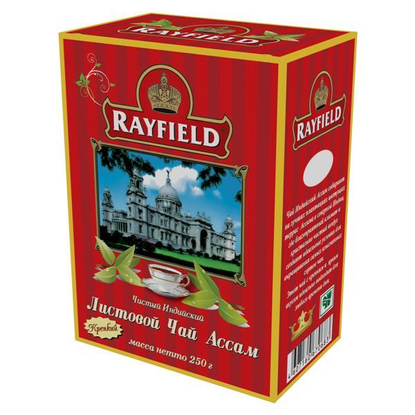 Чай черный Rayfield ассам крепкий 250 г фото