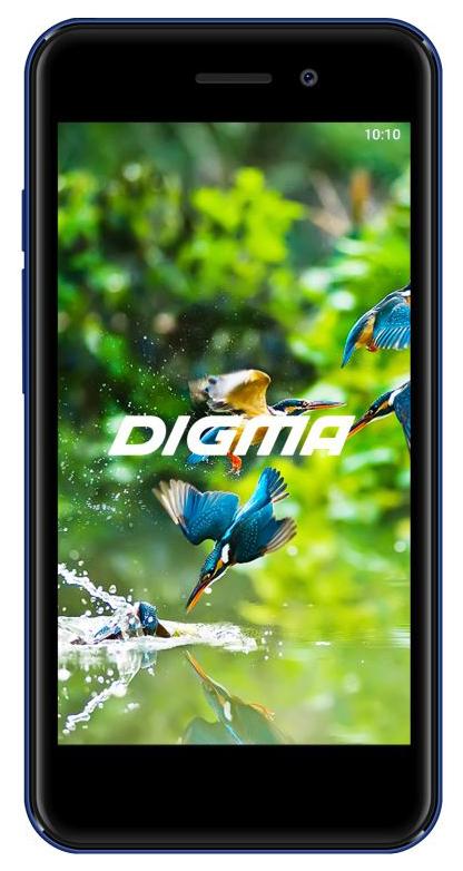 Смартфон Digma A453 3G Linx 8Gb Blue фото