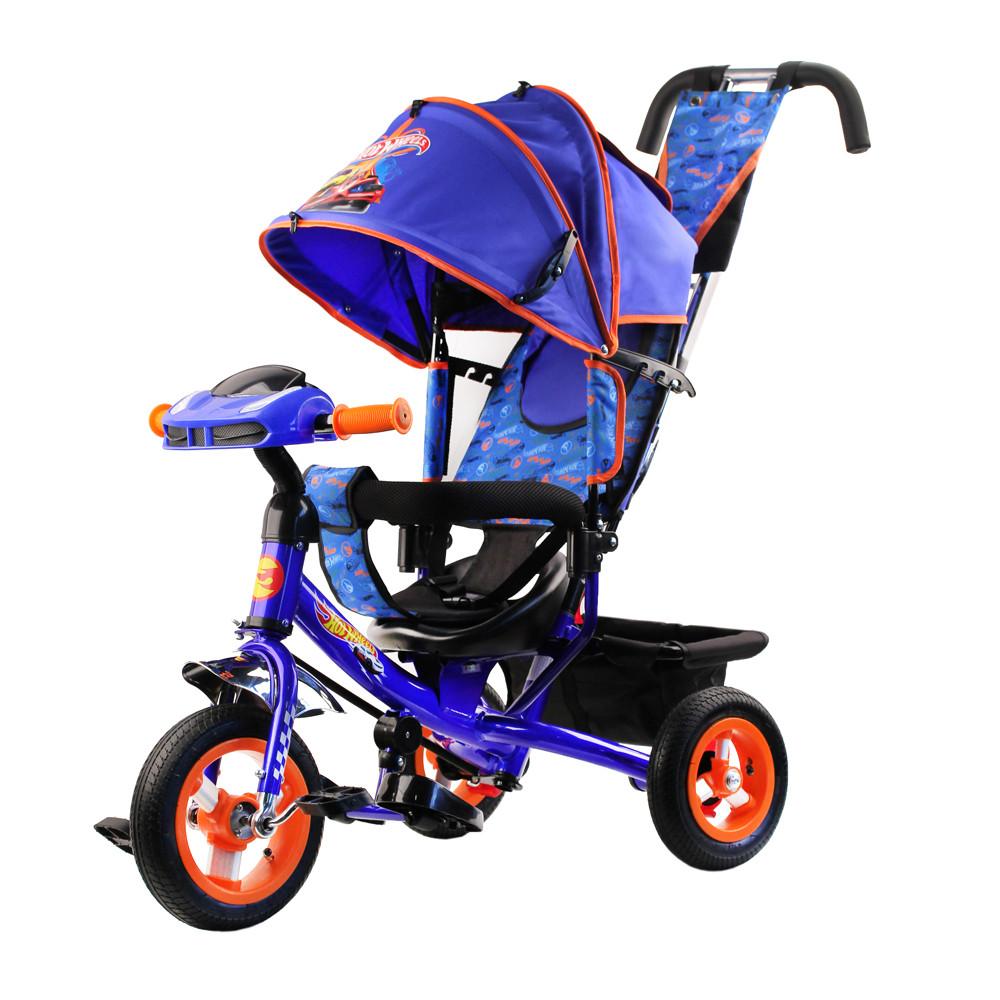 Купить Велосипед трехколесный Hot Wheels HH7B, Детские велосипеды-коляски