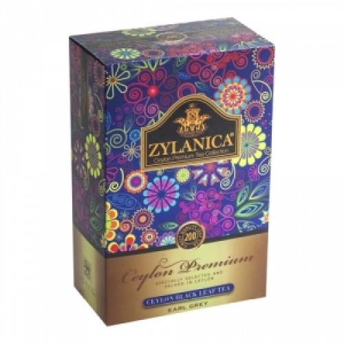 Чай черный листовой Zylanica ceylon premium collection бергамот FBOP 200 г фото