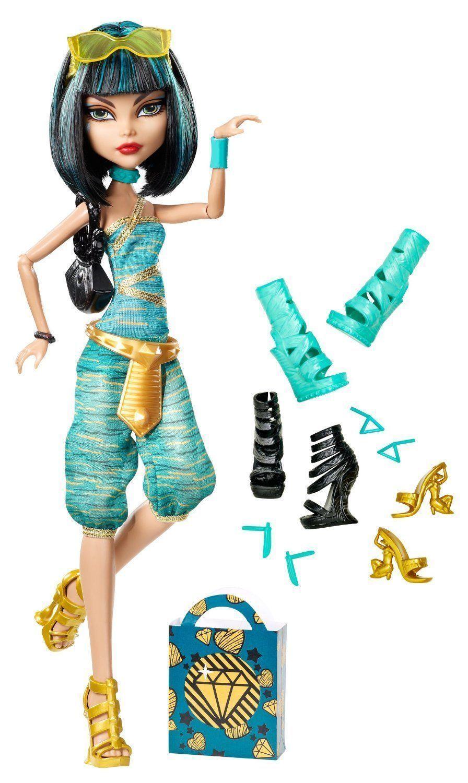 Купить Кукла Monster High Клео де Нил Я люблю обувь BBR92, Классические куклы