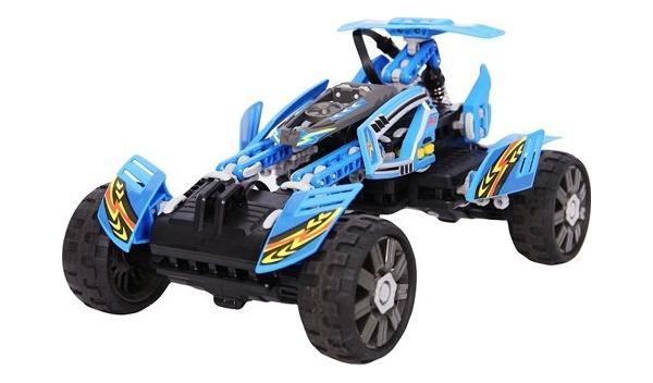 Радиоуправляемая машинка-конструктор SDL Racers Transcender Голубой