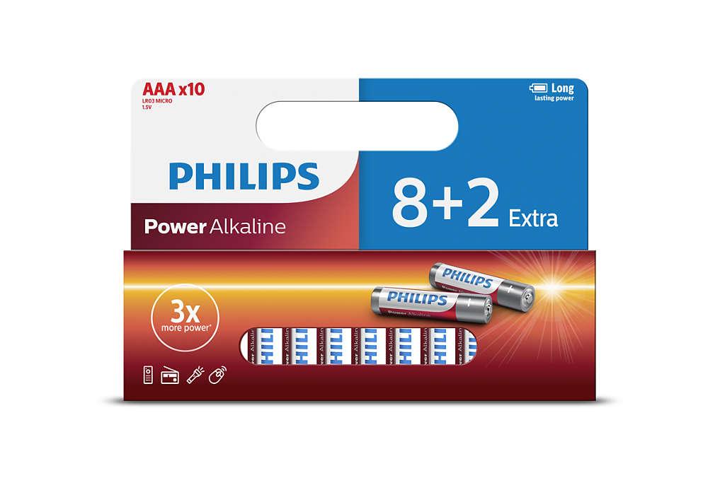 Батарейка Philips LR03P10WP/10 10 шт